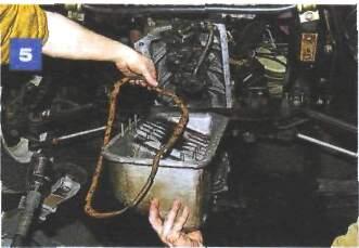 Замена прокладки поддона картера на автомобиле